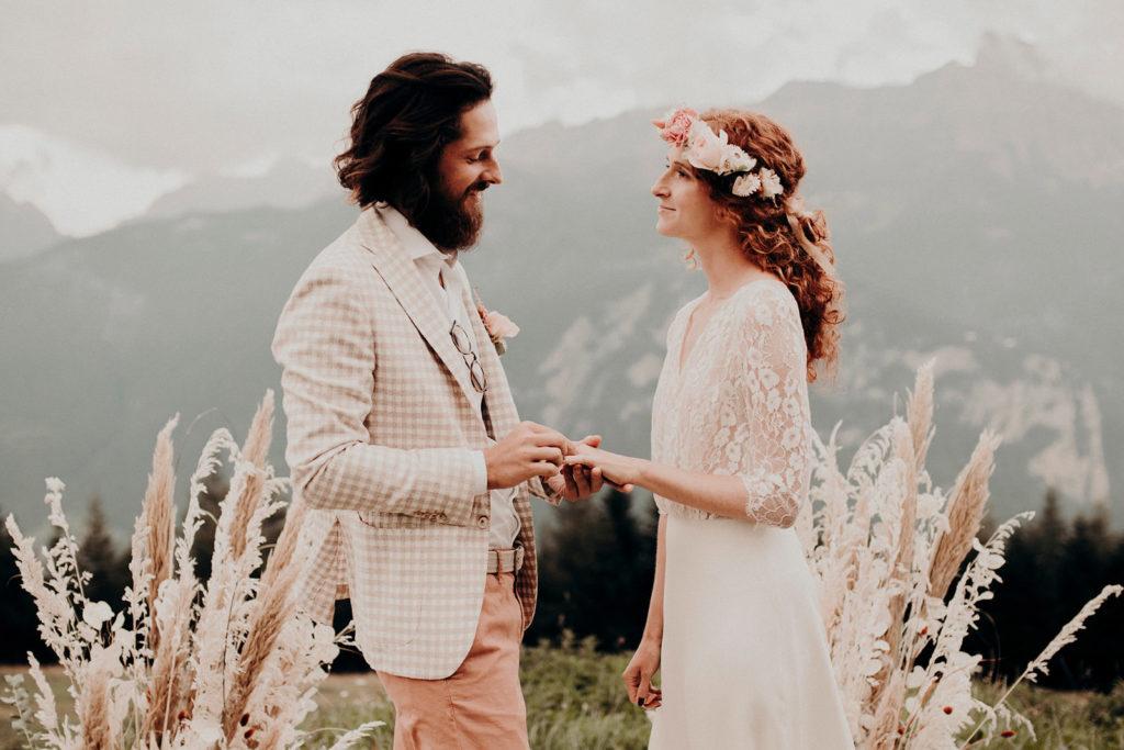 Mariage - Fleurs séchées - Atelier Graine de Prairie