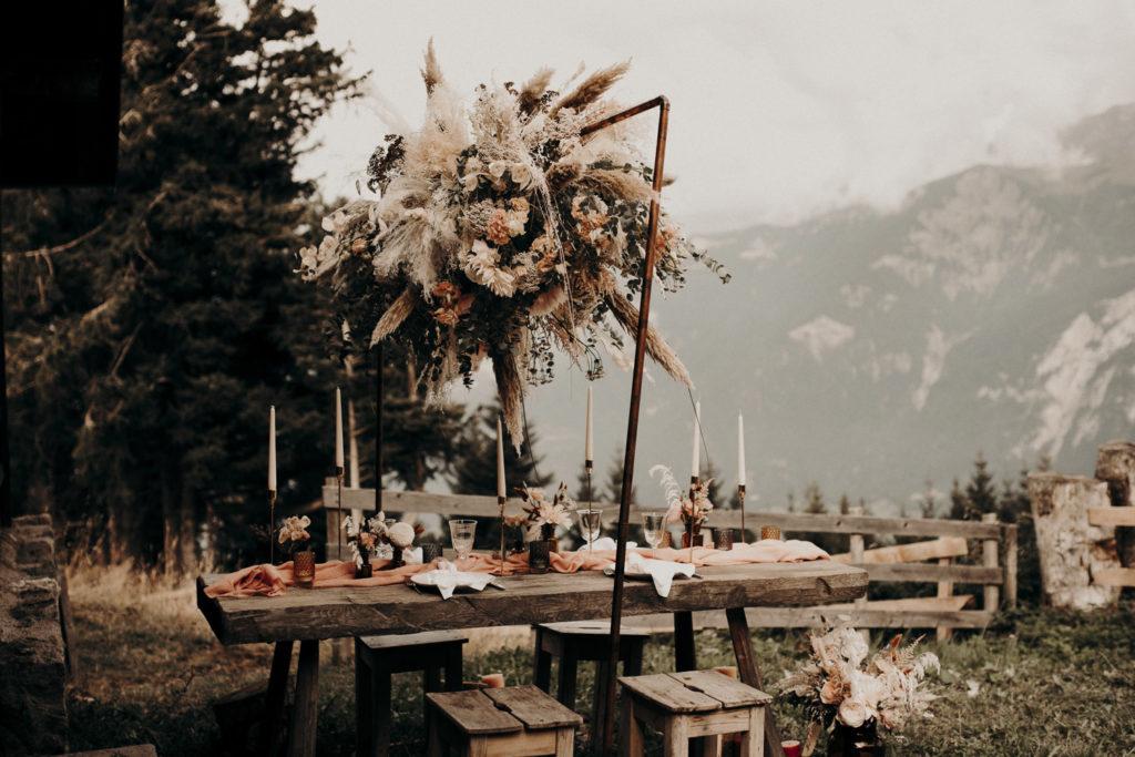Arche fleuri - Fleurs séchées - Atelier Graine de Prairie