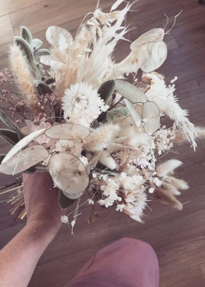 Solenne - Bouquet de fleurs séchées -Atelier Graine de Prairie